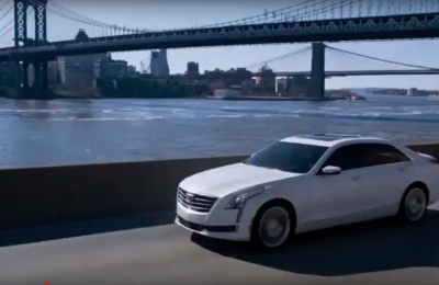 Cadillac CT6 – running footage