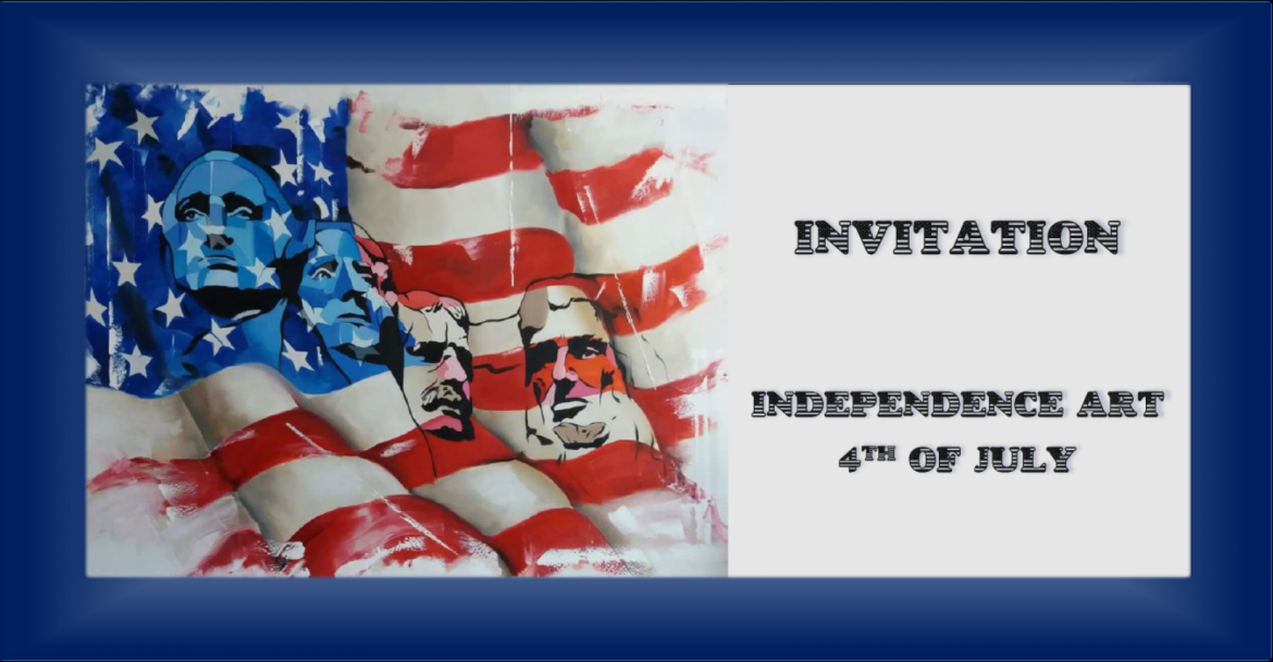 INDEPENDENCE ART 4th OF JULY