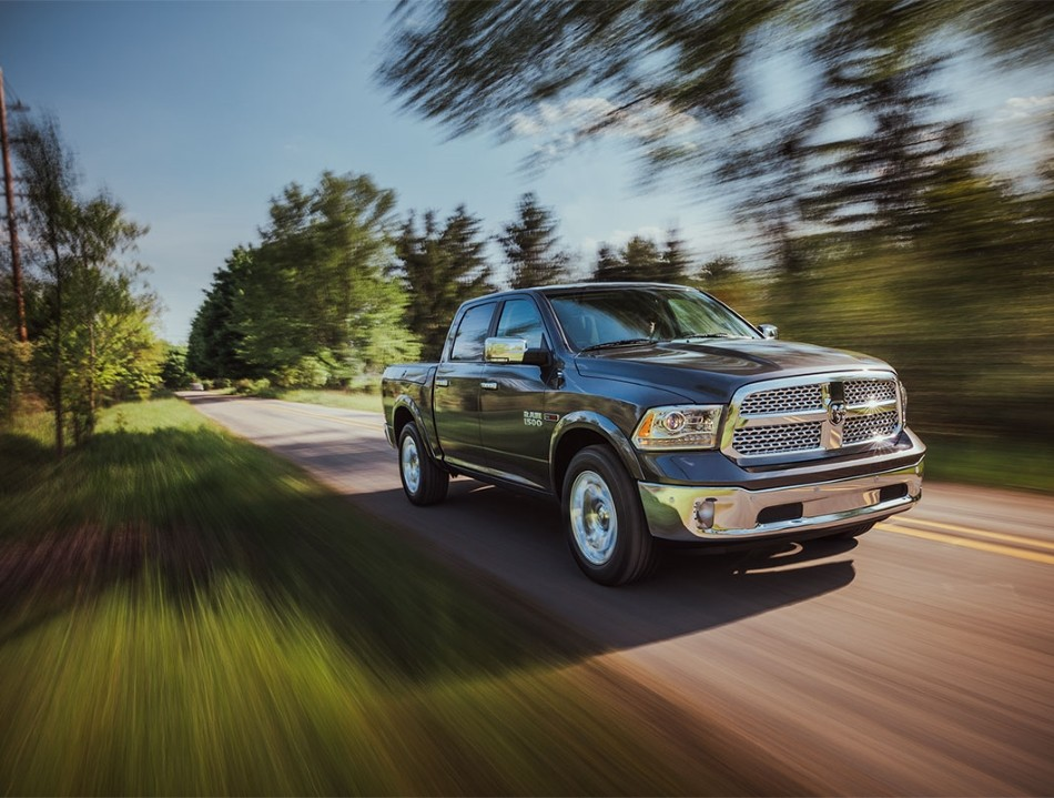 RAM 1500 in motion