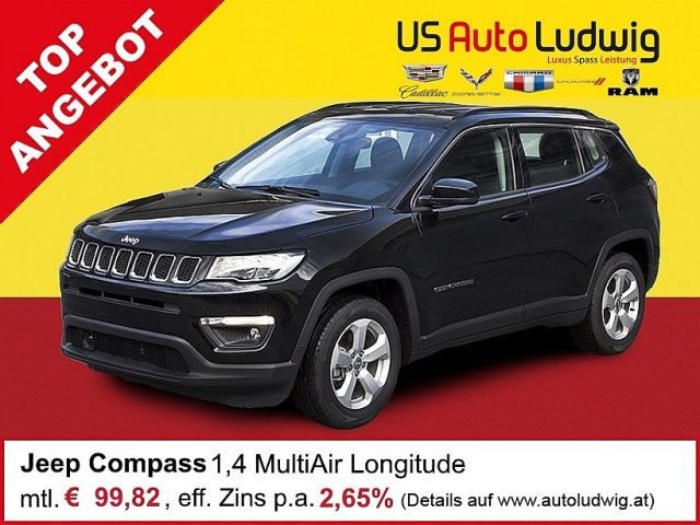 Jeep Compass 1,4 MultiAir2 FWD Longitude bei US-Cars Ludwig in 2x in Wien (Inh. Autoludwig Vertrieb GmbH)