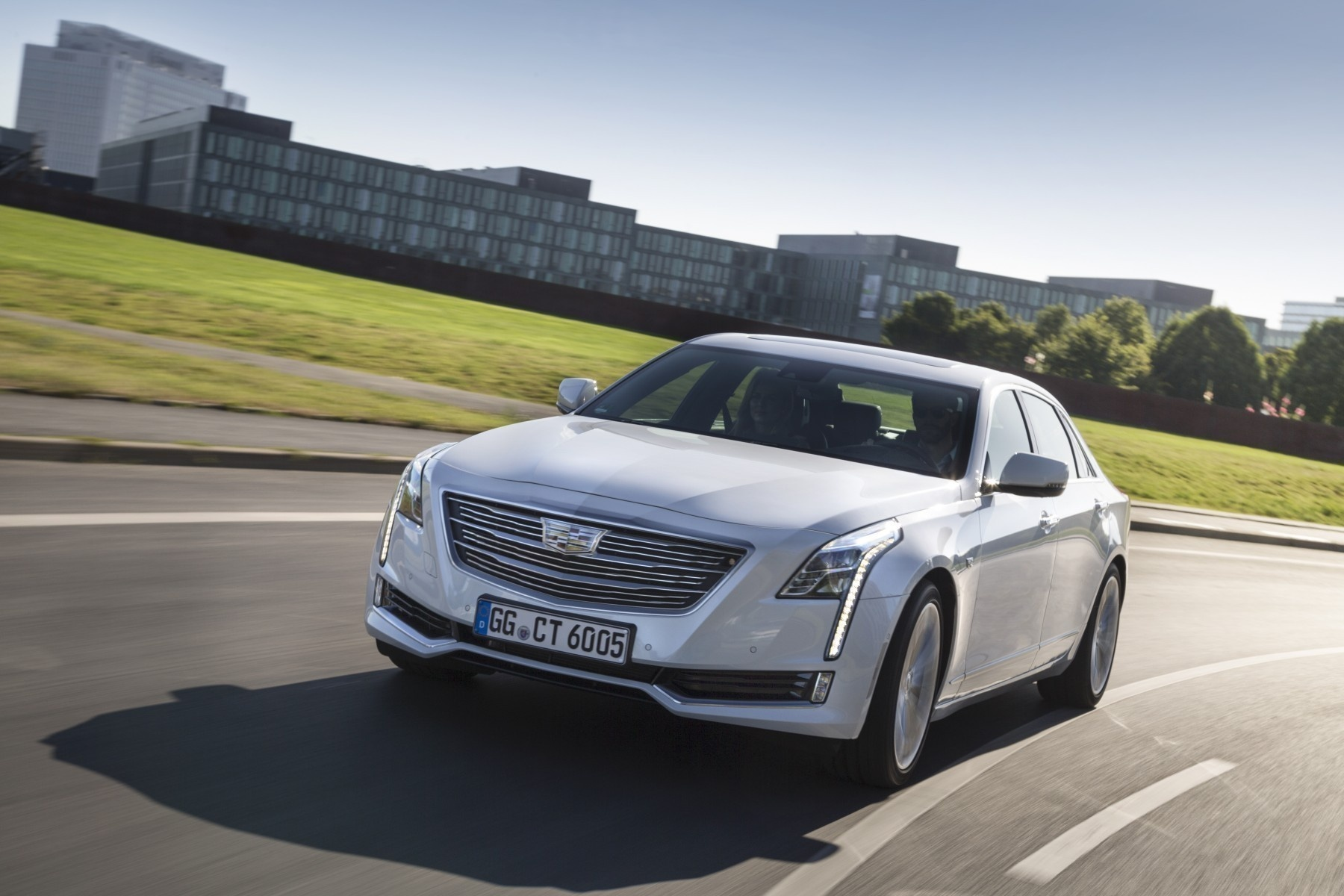 Cadillac CT6 Limousine Baujahr 2018 bei Auto Ludwig in 1230 Wien
