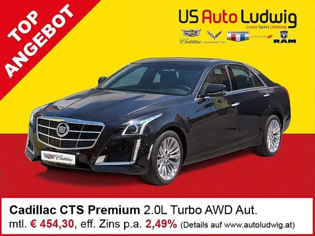 Cadillac CTS Premium 2,0 Turbo AWD Aut. bei US-Cars Ludwig in 2x in Wien (Inh. Autoludwig Vertrieb GmbH)