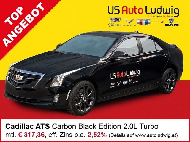 Cadillac ATS 2,0L Turbo RWD Luxury Aut. bei US-Cars Ludwig in 2x in Wien (Inh. Autoludwig Vertrieb GmbH)