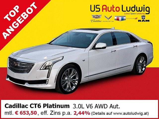 Cadillac CT6 Platinum 3.0 V6 AWD AT8 bei US-Cars Ludwig in 2x in Wien (Inh. Autoludwig Vertrieb GmbH)