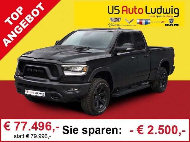 "Dodge Ram LKW Quad Cab Rebel Black MY20*Luft*12""Touchdisplay*2 bei US-Cars Ludwig in 2x in Wien (Inh. Autoludwig Vertrieb GmbH)"