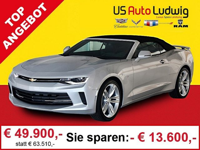 Chevrolet Camaro Cabrio 2,0 Aut. bei US-Cars Ludwig in 2x in Wien (Inh. Autoludwig Vertrieb GmbH)