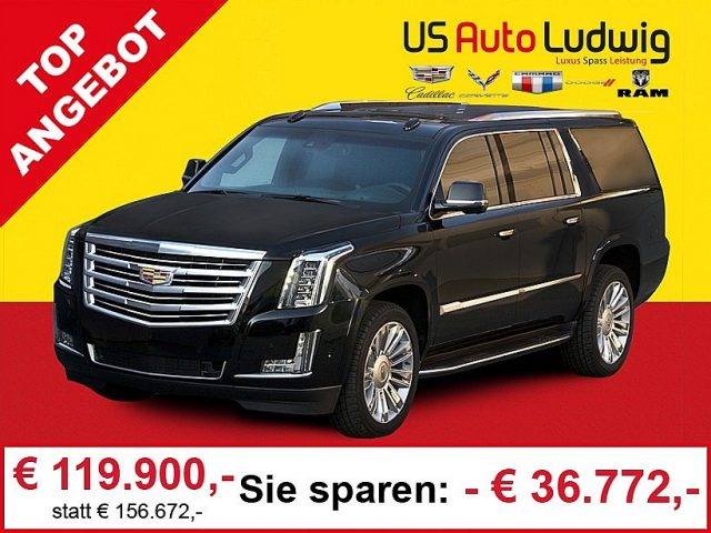 Cadillac Escalade 6,2l V8 AWD Platinum Aut. bei US-Cars Ludwig in 2x in Wien (Inh. Autoludwig Vertrieb GmbH)