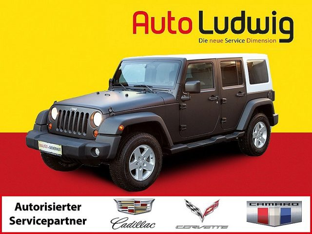 Jeep Wrangler Unlimited  2,8 CRD Aut. bei US-Cars Ludwig in 2x in Wien (Inh. Autoludwig Vertrieb GmbH)
