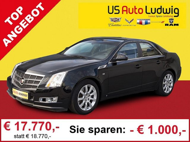 Cadillac CTS 2,8 V6 Sport Luxury Aut. bei US-Cars Ludwig in 2x in Wien (Inh. Autoludwig Vertrieb GmbH)